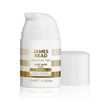 Ночная маска для лица уход и загар с ретинолом SLEEP MASK FACE WITH RETINOL - James Read