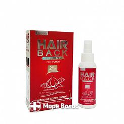Лосьон для волос с миноксидилом 2% HAIR BACK Spray - Cosmoactive + подарок